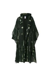 Abrigo Duster Verde Oscuro de Issey Miyake Vintage