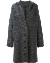 Abrigo en gris oscuro de Calvin Klein
