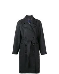 Abrigo en gris oscuro de Fay