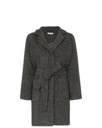 Abrigo en gris oscuro de Ganni