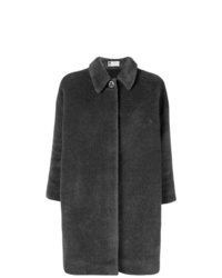 Abrigo en gris oscuro de Lanvin