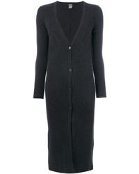 Abrigo en gris oscuro de Lorena Antoniazzi