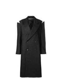 Abrigo en gris oscuro de Maison Margiela
