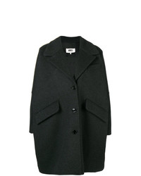 Abrigo en gris oscuro de MM6 MAISON MARGIELA