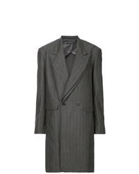 Abrigo en gris oscuro de Y/Project