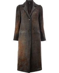 Abrigo en marrón oscuro de Avant Toi