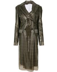 Abrigo en marrón oscuro de Calvin Klein