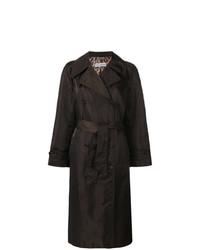Abrigo en marrón oscuro de Dolce & Gabbana Vintage