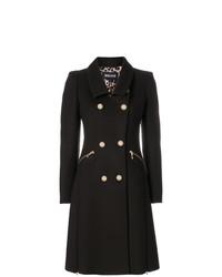 Abrigo en marrón oscuro de Just Cavalli