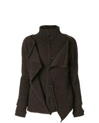Abrigo en marrón oscuro de Y's By Yohji Yamamoto Vintage