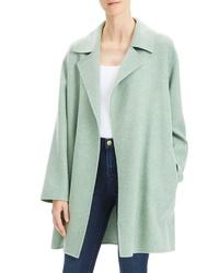 Abrigo en verde menta