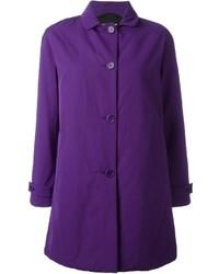 Abrigo en violeta de Aspesi