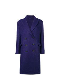 Abrigo en violeta de Ermanno Scervino