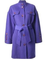 Abrigo en violeta de Guy Laroche