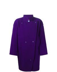 Abrigo en violeta de Thierry Mugler Vintage