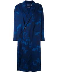 Abrigo Estampado Azul Marino de Blue Blue Japan