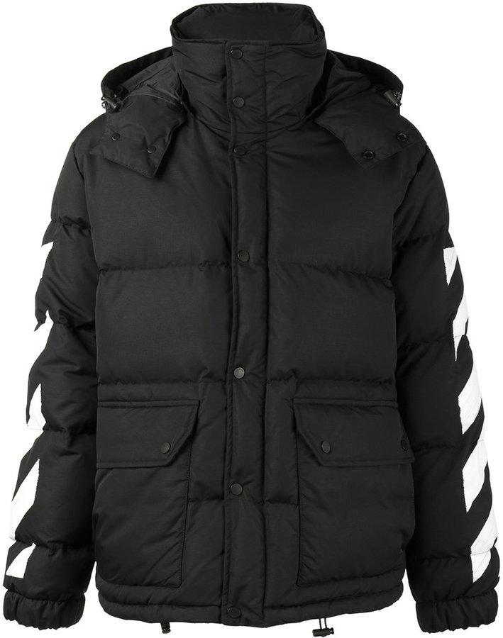 precio competitivo 3a0fd 1ccc9 MEX$36,478, Abrigo estampado negro de Off-White