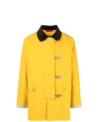 Abrigo largo amarillo