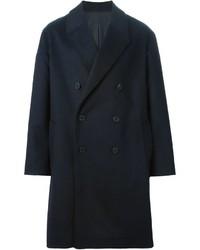 Abrigo largo azul marino de Ami