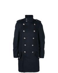 Abrigo largo azul marino de Diesel Black Gold