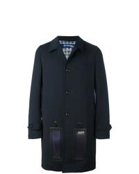 Abrigo largo azul marino de Junya Watanabe MAN