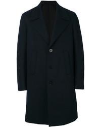 Abrigo largo azul marino de Neil Barrett