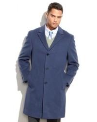 Abrigo largo azul