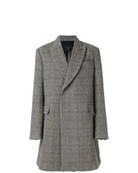 Abrigo largo de espiguilla gris de Stella McCartney