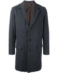 Abrigo largo en gris oscuro de A.P.C.