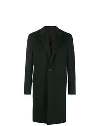 Abrigo largo en gris oscuro de Caruso