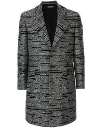 Abrigo largo en gris oscuro de Christian Dada