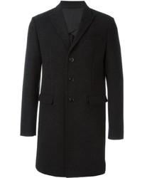 Abrigo largo en gris oscuro de DSQUARED2