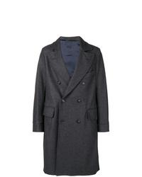 Abrigo largo en gris oscuro de Fortela