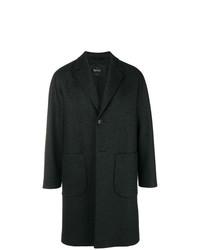 Abrigo largo en gris oscuro de Hevo