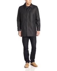 Abrigo largo en gris oscuro de Ike Behar