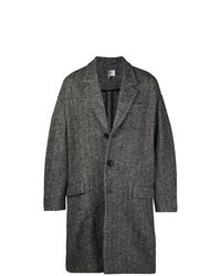 Abrigo largo en gris oscuro de Isabel Marant