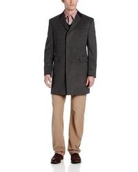 Abrigo largo en gris oscuro de Tommy Hilfiger