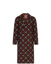 Abrigo largo en multicolor de Gucci