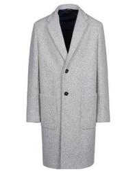 Abrigo largo gris