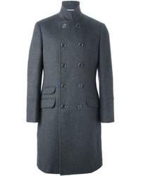 Abrigo largo gris de Brunello Cucinelli