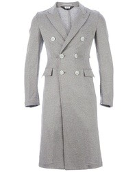 Abrigo largo gris de Comme des Garcons