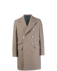 Abrigo largo gris de Hackett