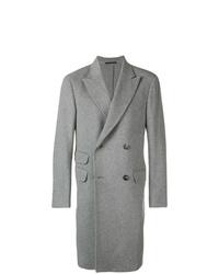 Abrigo largo gris de Z Zegna