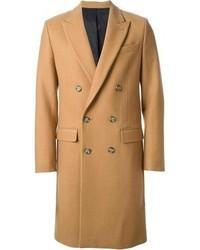 Abrigo largo marrón claro de Ami