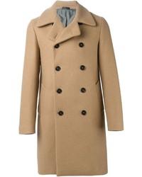 Abrigo largo marrón claro de Jil Sander