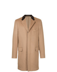 Abrigo largo marrón claro de Kent & Curwen