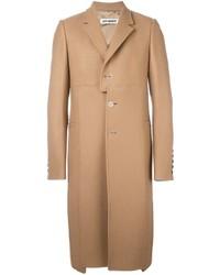 Abrigo largo marrón claro de Off-White