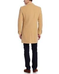 Abrigo largo marrón claro de Tommy Hilfiger