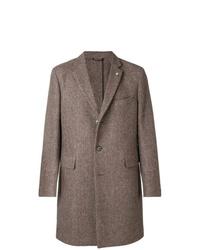 Abrigo largo marrón de Closed