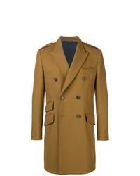Abrigo largo marrón de Dolce & Gabbana